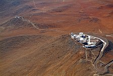Aerial View of the VLT