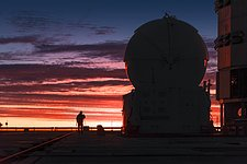 Sunset at Paranal