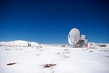 APEX Image Calendar, February 2010 — APEX in snow