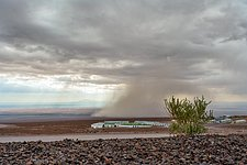 A desert deluge