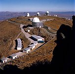View of the La Silla Observatory from the 3.6 m Telescope