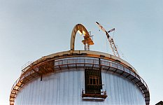 Dome construction for the ESO 3.6-metre telescope