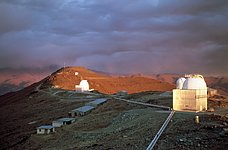 La Silla at sunset
