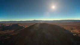 Sunset at Cerro Armazones