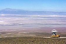 ALMA antenna transported to Chajnantor