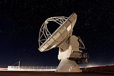 ALMA antenna at Chajnantor