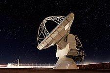 ALMA antenna at Chajnantor