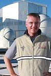 Prof. Tim de Zeeuw visiting Paranal Observatory