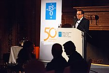Xavier Barcons at the ESO 50th Anniversary Gala Event