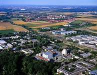 Aerial View of ESO Headquarters in Garching near Munich