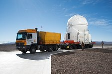 Transporting an Auxiliary Telescope
