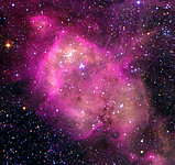 N 164 Nebula in the LMC