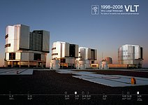 ESO Celebrates 10 years since First Light of the VLT