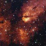 Star cluster RCW 38