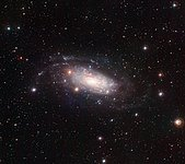 Wide Field Imager view of the spiral galaxy NGC 3621