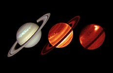 Huge storm on Saturn observed by ESO's Very Large Telescope