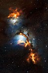 Cosmic dust clouds in Messier 78