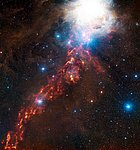 An APEX view of star formation in the Orion Nebula