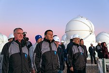 Italian Prime Minister visits ESO's Paranal Observatory