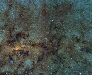 Variable stars close to the galactic centre