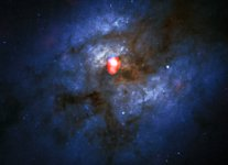 The merging galaxy system Arp 220 from ALMA and Hubble