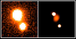 Light-bending Matter in the Distant Universe
