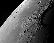 East of Sinus Iridum