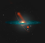 Artistic Impression of NGC 6712 Losing Stars into the Milky Way Halo
