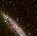 Detail of Spiral Galaxy NGC 4945