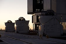 The Auxiliary telescopes on the Paranal Platform