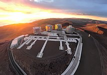 Drones-eye view of the VLT