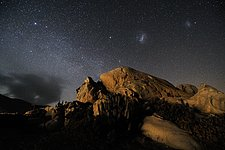 Starry night at the Atacama Desert Coast