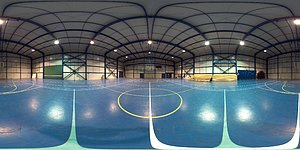 Panorama of Paranal's gym