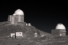 La Silla in Black and White