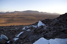 Chajnantor - the site for ALMA