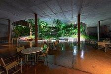 La Residencia's garden