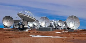 A Collection of ALMA Antennas