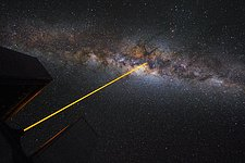 A laser in the sky