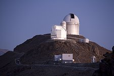 La Silla Telescopes in Twilight