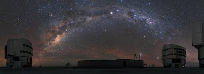 Paranal and the Milky Way