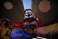 MPG/ESO 2.2-metre telescope with open dome