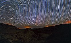 Startrails over the Atacama