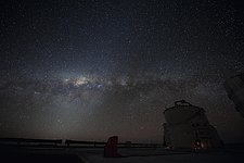 Stargazing over Paranal