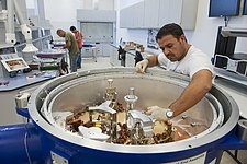 ALMA assembled cryostat