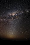 The Milky Way and the Zodiacal light