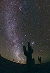 The Chilean Night Sky from ALMA
