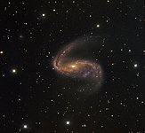 Distorted galaxy NGC 2442