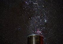 Stars above powered Paranal