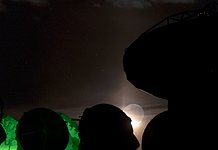 Moonrise at ALMA