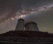 Milky Way streak at La Silla
